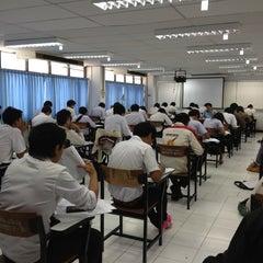 Photo taken at อาคาร 16 วิศวกรรมอุตสาหการ by จิตติวัฒน์ น. on 9/28/2012