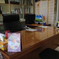 Photo taken at อาคาร 16 วิศวกรรมอุตสาหการ by จิตติวัฒน์ น. on 10/27/2012