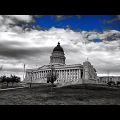 Photo taken at Utah State Capitol Building by Mark D. on 10/20/2012