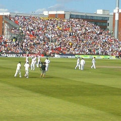 Photo taken at Emirates Old Trafford by Paul R. on 8/2/2013