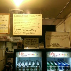 Photo taken at Chicago Cheesesteak Company by what white elephant on 11/13/2015
