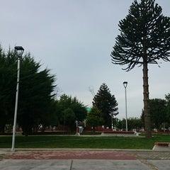 Photo taken at Plaza de Armas de Fresia by Jonathan B. on 5/27/2014