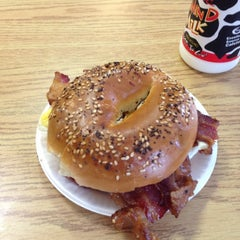 Photo taken at New York Bagel & Deli by Jeff S. on 9/29/2012