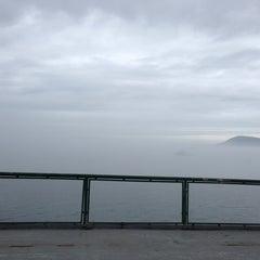 Photo taken at M/V Hyak (Washington State Ferry) by Benn S. on 8/15/2013