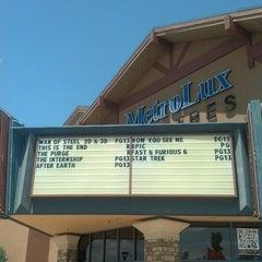 Photo taken at MetroLux 14 Theatres by Bob G. on 6/15/2013