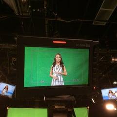 Photo taken at TV Azteca Noreste by JOn P. on 10/1/2015