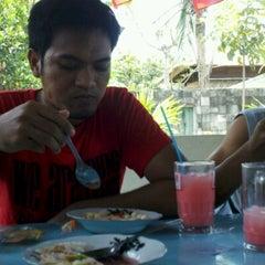 Photo taken at warung mek'di by Wande M. on 10/4/2012