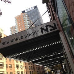 Photo taken at New World Stages by C.J. G. on 11/18/2012