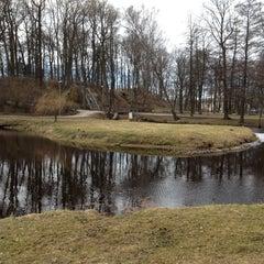 Photo taken at Arkādijas parks by Кристина С. on 4/20/2013