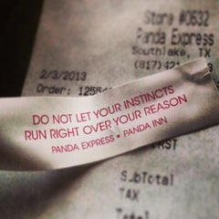 Photo taken at Panda Express by Ferrule R. on 2/3/2013