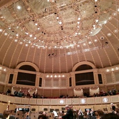 Photo taken at Symphony Center (Chicago Symphony Orchestra) by Dan G. on 5/12/2013