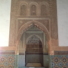 Photo taken at Saadian Tombs | قبور السعديين by Vadim M. on 1/2/2013