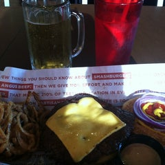 Photo taken at Smashburger by Mariah A. on 9/16/2012