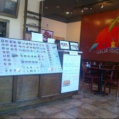 Photo taken at Ninja Sushi by Trey T. on 10/5/2012