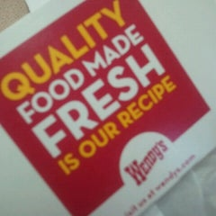 Photo taken at Wendy's by Henry J. on 9/18/2012