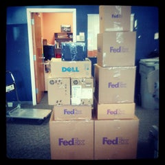 Photo taken at FedEx Office Print & Ship Center by Sour B. on 4/4/2013