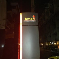 Photo taken at Amari Residence Sukhumvit by Lance L. on 3/2/2013