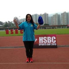 Photo taken at Hong Kong Sports Institute 香港體育學院 by Mandyzenana F. on 4/28/2013