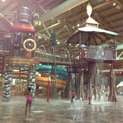 Photo taken at Great Wolf Lodge by Dana W. on 1/2/2013