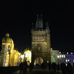 Photo taken at Staroměstská mostecká věž | Old Town Bridge Tower by nanyst L. on 3/4/2013