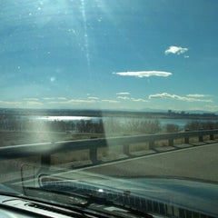 Photo taken at Cherry Creek Dam Road by Darima L. on 11/13/2012