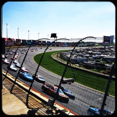 Photo taken at Charlotte Motor Speedway by Paul B. on 10/11/2015