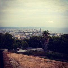 Photo taken at Parc de Bombers de Montjuïc by Irena P. on 8/29/2013