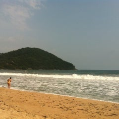 Photo taken at Barra do Sahy by Deh M. on 12/29/2012