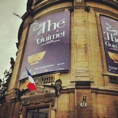 Photo taken at Musée Guimet – Musée National des Arts Asiatiques by Alejandro Q. on 11/2/2012