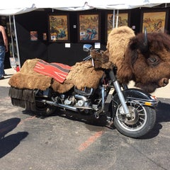 Photo taken at Black Hills Harley-Davidson by Brian K. on 8/2/2014