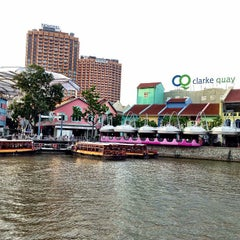 Photo taken at Clarke Quay by Franky B. on 1/29/2013