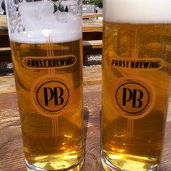 Photo taken at Prost Brewing by Toya E. on 6/14/2013