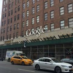 Photo taken at Google New York by Luis Á. on 9/22/2015