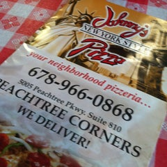 Photo taken at Johnny's Pizza by Stacy F. on 2/8/2013