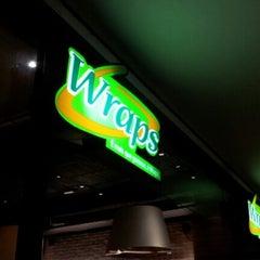 Photo taken at Wraps by Thiago F. on 9/15/2012
