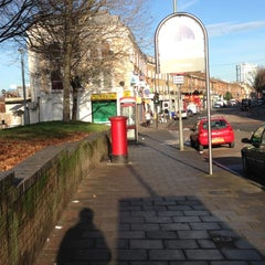 Photo taken at Queenstown Road by Ej L. on 12/16/2012
