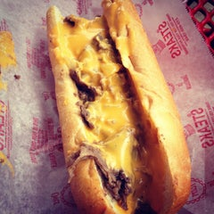 Photo taken at Pat's King of Steaks by Alex S. on 3/2/2013