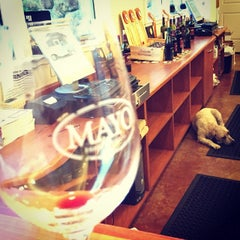 Photo taken at Mayo Family Winery by Eddie G. on 11/7/2014