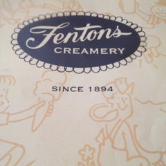 Photo taken at Fentons Creamery & Restaurant by Zooey G. on 6/5/2012