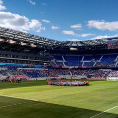 Photo taken at Red Bull Arena by Frank B. on 3/30/2013