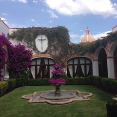 Photo taken at Posada Del Virrey by Luis E. on 4/18/2014