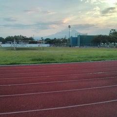 Photo taken at Unidad Deportiva by Victor M. on 8/5/2013