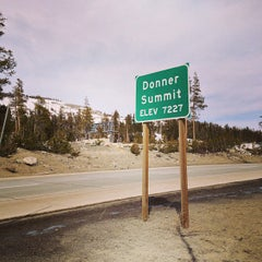 Photo taken at Donner Pass Summit by Jibran K. on 3/13/2013