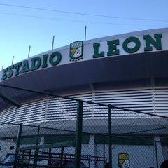 Photo taken at Estadio León by Ricky V. on 11/17/2012