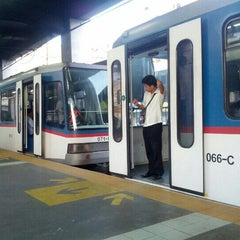 Photo taken at Yellow Line - Taft Avenue Station by Harold I. on 12/5/2012