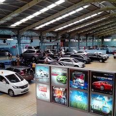 Photo taken at Honda Jakarta Center (PT Imora Motor) by Santo G. on 2/21/2014