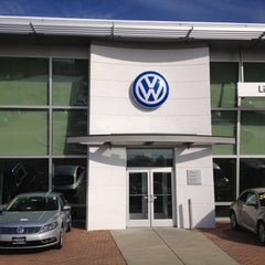 Photo taken at Lindsay Volkswagen of Dulles by Gregory G. on 10/17/2012
