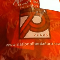 Photo taken at National Book Store by Liezl L. on 11/28/2012