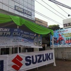 Photo taken at Suzuki Hero Sakti Motor Gemilang by sugimasihada on 9/29/2012