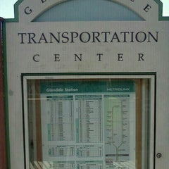Photo taken at Metrolink Glendale Station by Rita M. on 7/3/2013